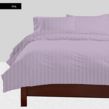 PEARL BEDDING Egyptian cotton Sheet set with 30