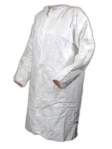 magid-cc111xxxl-econowear-tyvek-disposable-lab-coat-3xl-white-case-of-30-each-by-magid-glove-safety