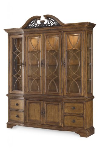 Picture of A.R.T. Furniture China Cabinet - Hickory (75242-2636R) (75242-2636R) (China Cabinets)