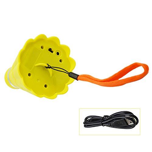 Badminton en forme de Mini USB Portable ventilateur électrique Rechargeable pour particuliers étudiants Outdoor Camping voyage randonnée jaune