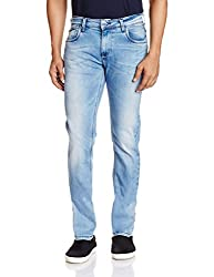 Lawman Men's Relaxed Jeans (8907395055573_PG3 KMN-1639STR RLXSLMFT AQA_34W x 34L_Blue)