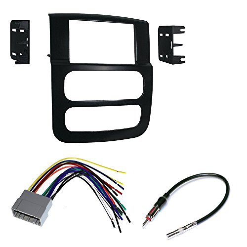 CAR RADIO STEREO CD PLAYER DASH INSTALL MOUNTING KIT HARNESS DODGE RAM 2002 - 2005 (Dodge Ram Infinity Harness compare prices)