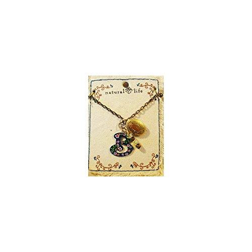 Single Charming Monogram Locket Necklace