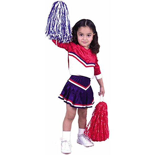 Child's Toddler Cheerleader Halloween Costume (2-4T)