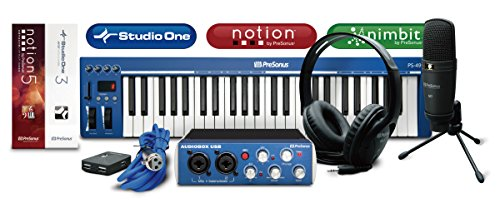 PreSonus プリソーナス DTMセット AudioBox Music Creation Suite [DAWソフトStudio One 3 Artist付属]