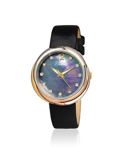 Bertha Women's BR3504 Jean Black Leather Watch