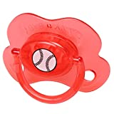 Chupete Nuevo De Bebé Divertido Regalo De Novedad Pacify Bebé De 6 Meses - Rojo, 7cm X 3.8cm X 3.8cm