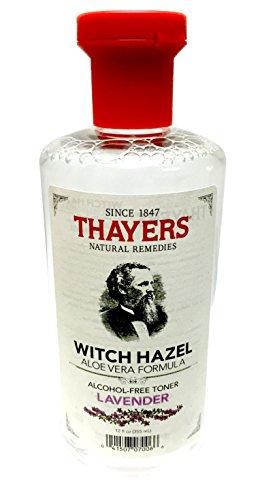 Toner Lavender Witch Hazel Alcohol-Free - Thayer - 12 oz - L