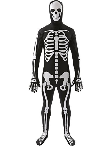 Adult Skin Suits Halloween Skeleton Halloween Costume Outfit Men Women