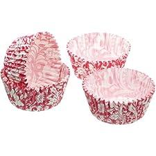 Kitchen Craft - Capsulas Mini Cupcake Vintage (4,5 Cm), 80 Unids