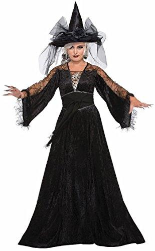 Forum Women's Spellcaster Wizard Costume, Multi, One Size