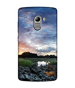 small candy 3D Printed Back Cover For Lenovo k4 note -Multicolor nature