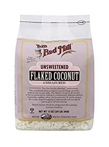 Bob's Red Mill Unsweetened Coconut Flakes, 12 Oz