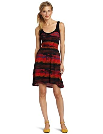 Hurley Juniors Jasper Dress, Pinata Red, X-Small