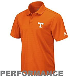 Tennessee Volunteers Orange Arch Logo Mens Climalite Polo Shirt by Adidas by adidas
