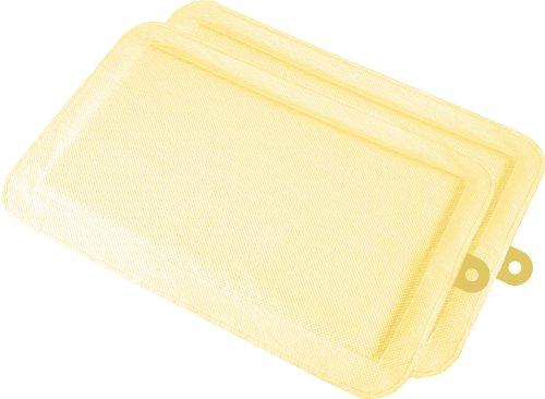 DryFur Pet Carrier Insert Pads size Medium 23.5″ x 15.5″ Yellow – 2 pack