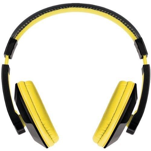 Merkury M-Hl815 Urban Beatz Tempo Stereo Headphones (Black & Yellow)