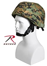 Mich Helmet Cover - Woodland Digital