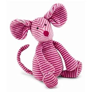 """Bon Bon Pink Mouse 10"""" by Jellycat"""