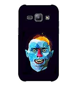 EPICCASE Weird Man Mobile Back Case Cover For Samsung J1 Ace (Designer Case)