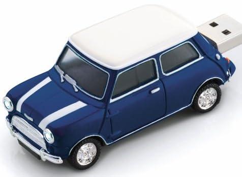 グリーンハウス USBフラッシュメモリ MINI Cooper型 4GB ブルー UFDMC-4GBL