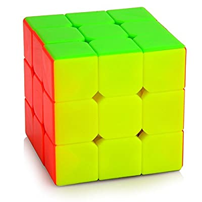 Cyclone Boys Magic Cube 3x3x3 Stickerless Speed Puzzle Cube(56mm) from Cyclone Boys