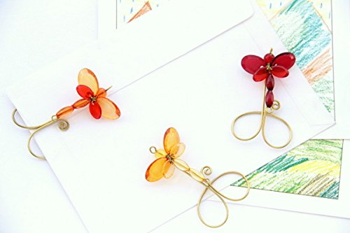 Funky Paperclips- Summer Tiny Dragonfly (Set of 3)