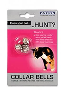 Ancol Pack of 3 Spare Cat Collar Bells 331100