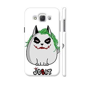 Colorpur Jocat Joker The Cat Designer Mobile Phone Case Back Cover For Samsung Galaxy E5   Artist: Giordano Aita