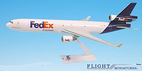 fedex-05-cur-md-11-airplane-miniature-model-snap-fit-1200-part-amd-01100h-030-by-flight-miniatures