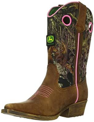 Amazon.com: John Deere 3246 Western Boot (Little Kid/Big