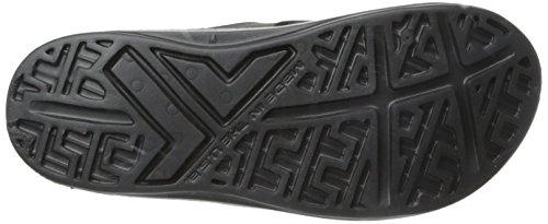Telic Unisex Slide Sandal, Black, 8 B(M) US WOMEN/7 D(M) US MEN
