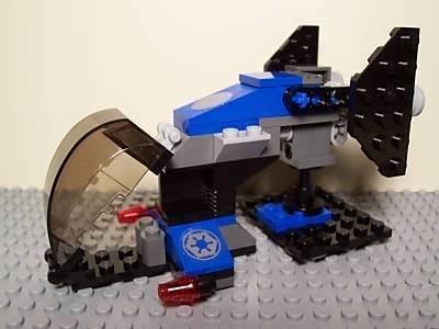 Imperial Dropship (No Box) - LEGO Star Wars Minifigure Vehicle