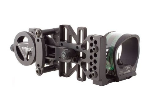 New Trijicon Accupin Bow Sight Green With Accudial Mount, Black, Right Hand, Older Bw50G-Bln