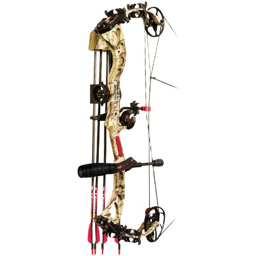 PSE Bow Madness XS Field Ready Compound Bow Package, MOBU INFINITY, RH 29/70