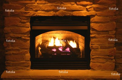 Wallmonkeys Peel and Stick Wall Graphic - Fireplace - 36