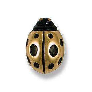 Michael Healy Designs MHR20 Ladybug Doorbell Ringer, Bronze