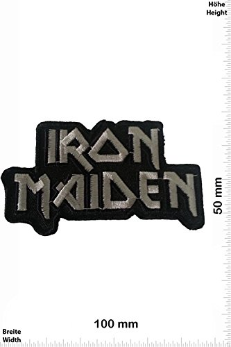Patch - Iron Maiden - MusicPatch - Rock - Chaleco - toppa - applicazione - Ricamato termo-adesivo - Give Away