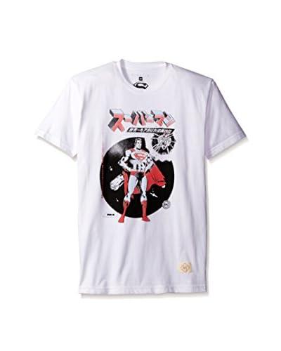 Kinetix Men's Superman Comet Kanji Short Sleeve T-Shirt