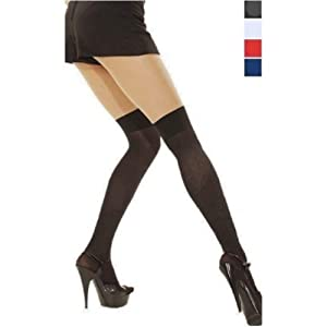 Versatile Over the Knee Stockings (Red, Black, Navy or White)