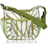 BlueAvocado LNCH-KW Insulated Reusable Collapsible Lunch Tote, Kiwi Wildflower