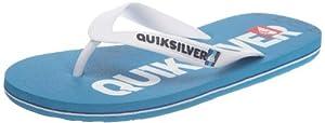 Quiksilver Molokai Nitro KMMSL383 - Chanclas de caucho para hombre, color azul, talla 46