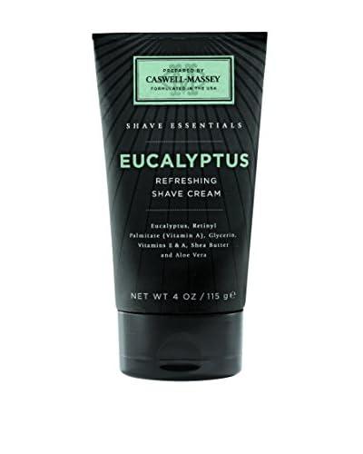 Caswell-Massey Eucalyptus Shave Cream Tube, 4 oz.