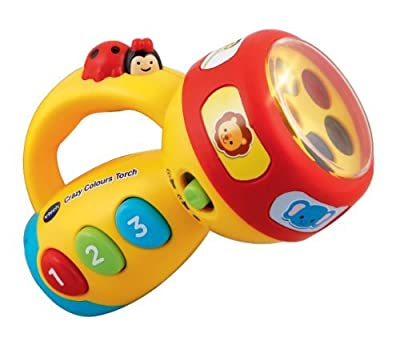 VTech Baby Crazy Colours Torch for 12 - 36 Months (Multicoloured)