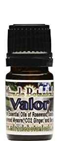 Miracle Botanicals Valor - 100% Pure Essential Oil Blend 5ml