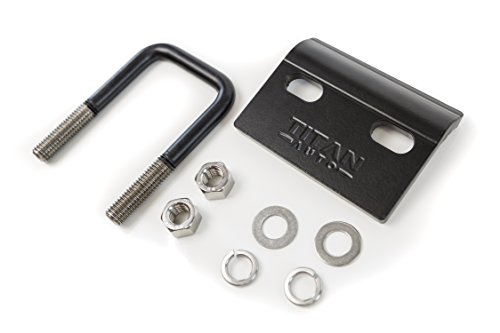 The Hitch Titan Hitch Tightener | Anti-Rattle Hitch Pin Reduces Noise and Swaying | For Use with 1.25