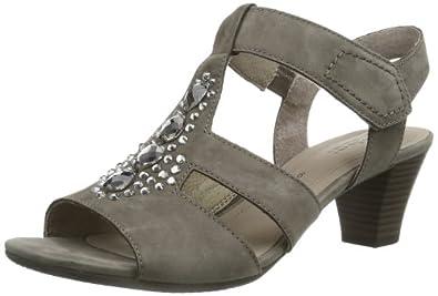 Gabor Shoes Gabor 85.861.13 Damen Sandalen, Grau (fumo), EU 37.5 (UK 4.5) (US 7)