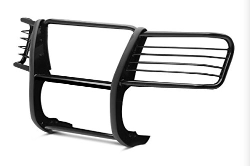 TAC Custom Fit 2007-2017 TOYOTA TUNDRA/ 2008-2016 TOYOTA SEQUOIA GRILL GUARD BLK Brush Nudge Push Bull Bar (Grill Guard Tundra compare prices)