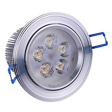 5W Led Silver Ceiling Light With 5 Leds Driver Included (Swivel 0-60¡Ã / Beam 5¡Ã/30¡Ã/45¡Ã/60¡Ã)