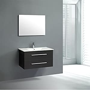 Outsunny set mobile da bagno set arredo per bagno lavabo for Amazon lavabos